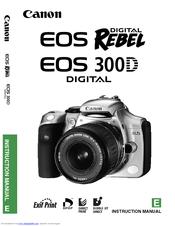 canon eos eos 300d instruction manual pdf download rh manualslib com Canon EOS 300D Tripods canon-eos-300d-service-repair-manual