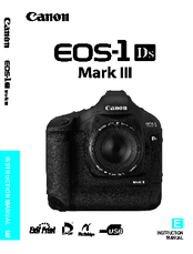 Canon EOS-1Ds Mark III Instruction Manual