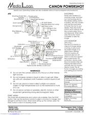 Canon PowerShot A95 Operating Manual