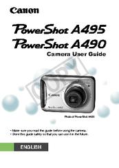 canon powershot a495 user manual pdf download rh manualslib com Blue Canon PowerShot Blue Canon PowerShot A495
