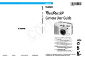 Canon PowerShot G2 (PC1015) Reference Manual