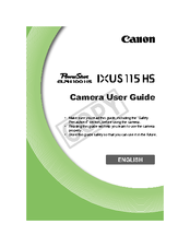 canon digital ixus 9015 manual