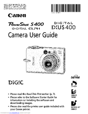canon digital ixus 400 manuals rh manualslib com canon ixus 950 is service manual canon ixus 105 service manual