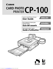 Canon CP-100 User Manual