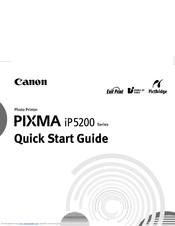 canon pixma ip5200 series manuals. Black Bedroom Furniture Sets. Home Design Ideas