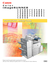 CANON COLOR IMAGERUNNER C3480 SERVICE MANUAL Pdf Download.