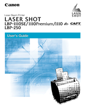 Canon Laser Shot LBP-1110SE User Manual