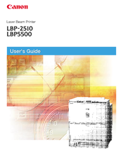 Canon LBP-2510 User Manual