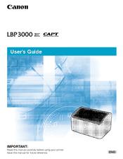 DRIVERS: CANON SATERA LBP 3000