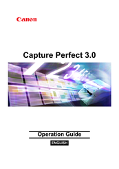 Canon capture perfect 3. 0 manuals.