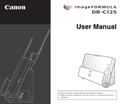 Canon imageFormula DR-C125 User Manual