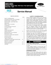 Carrier 38mvc Manuals
