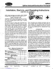 carrier 58pav user manual pdf download rh manualslib com Carrier Furnace Reset Switch 58PAV Carrier Furnace Reset