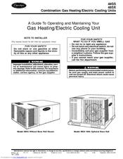 Carrier 48ss Manuals