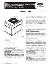 Carrier Infinity 50xt Manuals