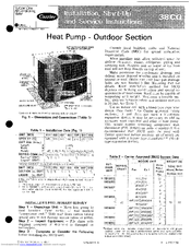 carrier 38cq manuals Carrier Heat Pump Package carrier infinity heat pump owner's manual
