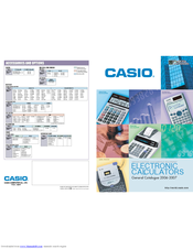 Casio fx-9860G SD Product Catalogue