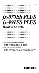 Casio fx-991ES PLUS User Manual