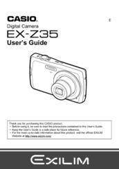 casio z35 manual