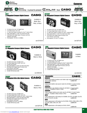 Casio CANON MF4270 Catalog