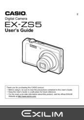 casio zr10 manual