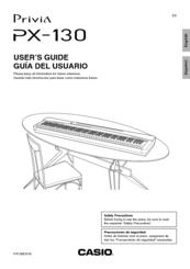 casio privia px 130 user manual pdf download rh manualslib com  casio privia px-130 service manual