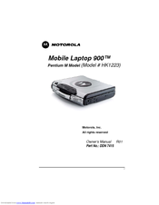 Motorola ML900 HK1311A Owner's Manual
