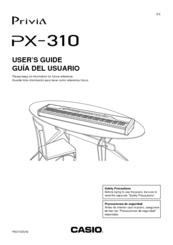 casio privia px 310 manuals rh manualslib com Casio Privia PX- 780 casio privia px-310 manual pdf