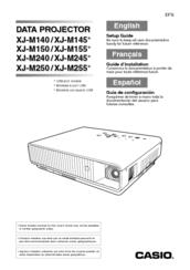 casio xjm250 manual
