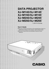 casio xjm140 manual