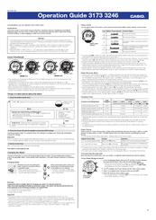 casio pag240 1cr manuals rh manualslib com manual for casio pathfinder 100t manual reloj casio pathfinder español