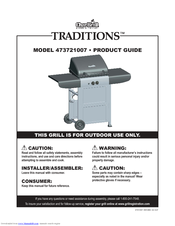 Char Broil Traditions 473721007 Manuals