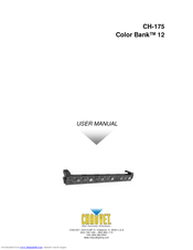 chauvet color bank 12 manuals rh manualslib com Corvette Owners Manual Corvette Owners Manual