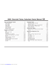 chevrolet 2009 suburban owner s manual pdf download rh manualslib com 2016 Chevrolet Suburban 2008 Chevrolet Suburban