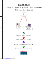 Cisco Aironet 340 Series Quick Start Manual