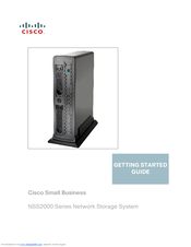 Cisco NSS2000 Series Getting Started Manual