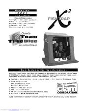 clam corp fish trap x2 8237 instruction manual pdf download rh manualslib com
