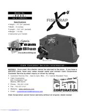clam corp fish trap x4 8235 installation manual pdf download rh manualslib com