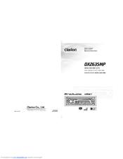 clarion dxz635mp manuals rh manualslib com