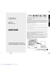 clarion dxz675usb manuals rh manualslib com