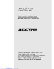 28524_max675vdii_product clarion max675vd manuals clarion max685bt wiring diagram at nearapp.co