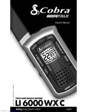 Cobra microTALK 6000 WX Owner's Manual