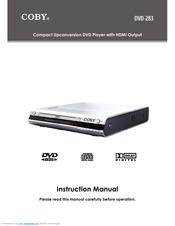 coby dvd 283 manuals rh manualslib com Coby Remote Coby DVD 224 Remote Control