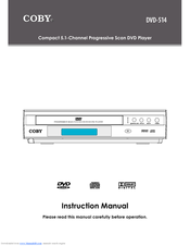 coby dvd 514 manuals rh manualslib com Coby DVD Player Coby Headset