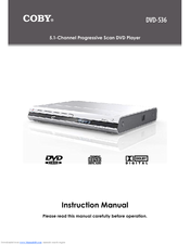 coby dvd 536 manuals rh manualslib com Coby DVD 224 Manual Coby DVD 224 Manual