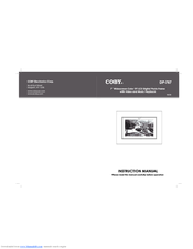 coby dp 767 digital photo frame manuals rh manualslib com User Manual User Manual