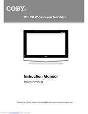 coby tfdvd3297 32 lcd tv manuals rh manualslib com Coby 7 Inch LCD TV Coby 32 Inch TV