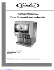 Cornelius FlavorFusion Series Installation Manual