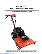 Dr Scout Field And Brush Mower Manuals