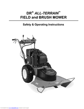 Dr DR ALL-TERRAIN FIELD and BRUSH MOWER Manuals